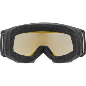 UVEX Athletic LGL Gafas, black/lasergold lite blue